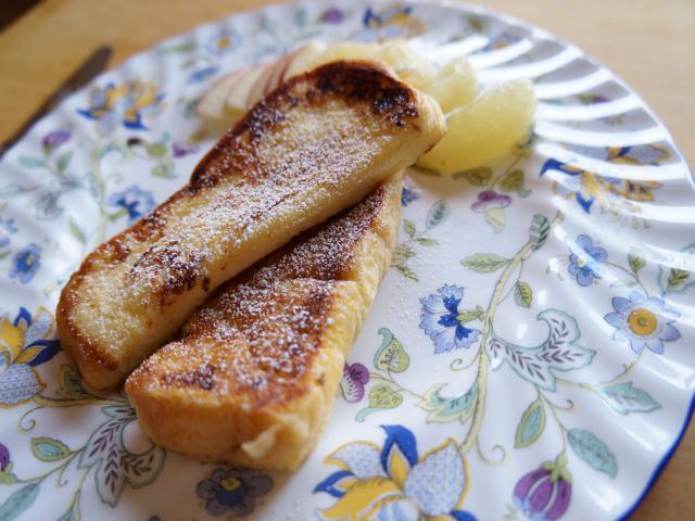 シンプルなフレンチトースト